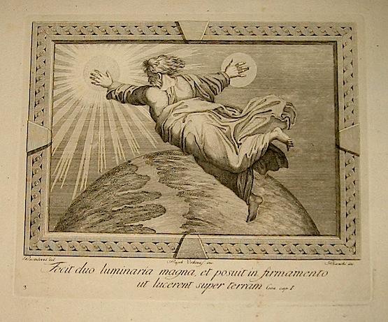Bianchi Giuseppe Fecit duo luminaria magna, et posuit in firmamento ut lucerent super terram inizi XIX Secolo Roma