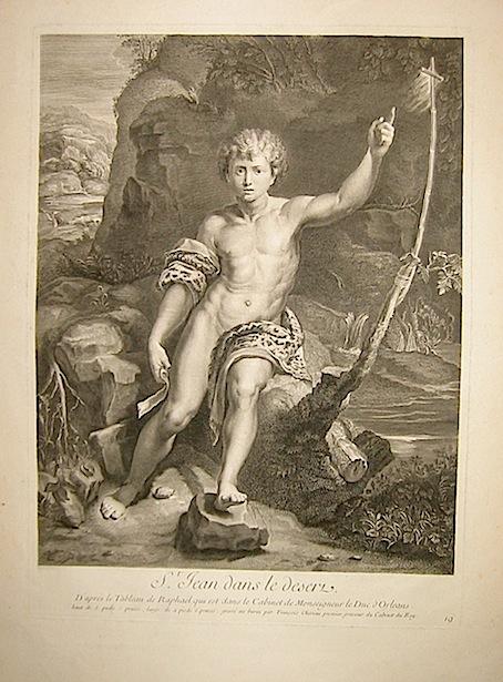 Cherau François St. Jean dans le deserte inizi XIX Secolo Parigi
