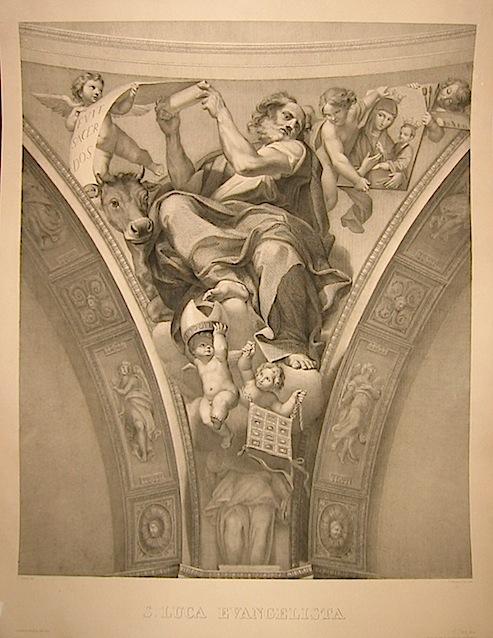 Marcucci Giuseppe (1807-1893) S. Luca Evangelista 1870 ca. Roma, Calcografia Camerale