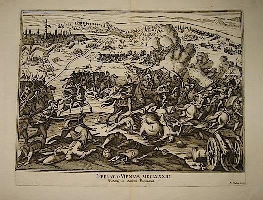 Cochin Nicolas Liberatio Viennae, MDCLXXXIII prima metà  del XVIII Secolo Padova