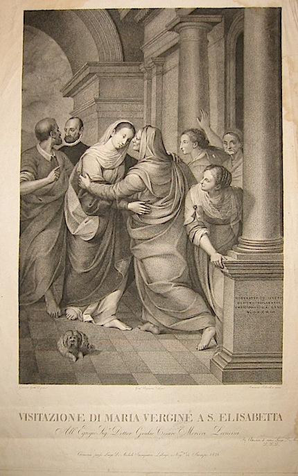 Todeschini Tommaso  Visitazione di Maria Vergine a S. Elisabetta... 1826 Cremona, Luigi De Micheli