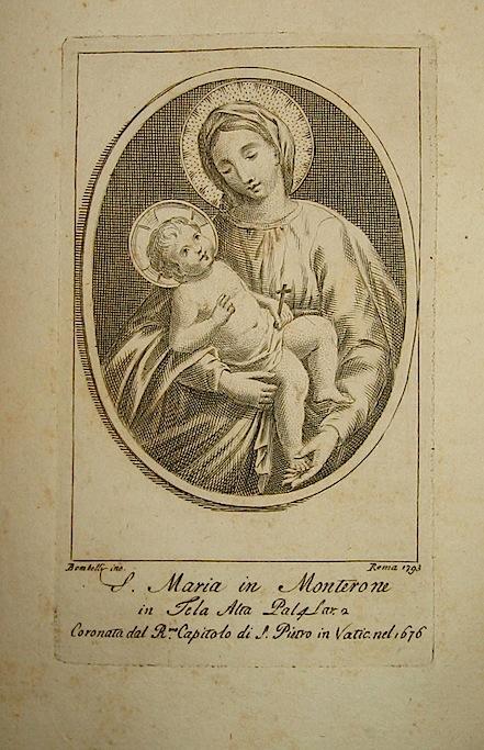 Bombelli P. S.Maria in Monterone 1793 Roma