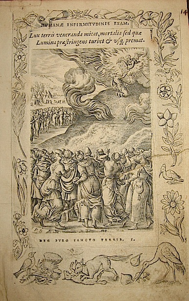 Anonimo di Scuola fiamminga Humanae infirmitudinis exam. 1571 Anversa