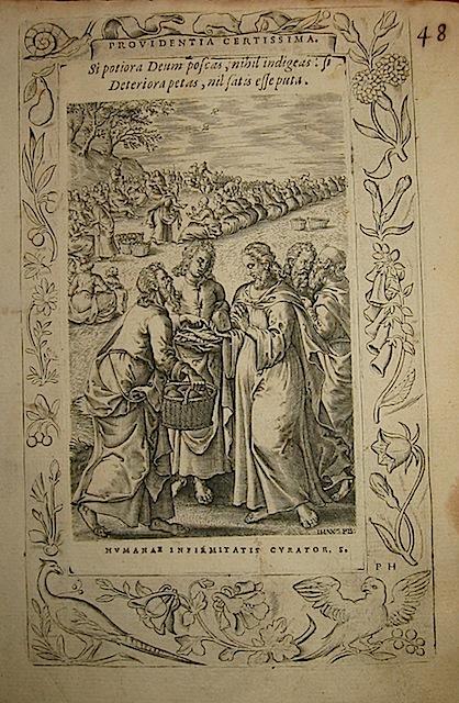 Anonimo di Scuola fiamminga Providentia certissima 1571 Anversa