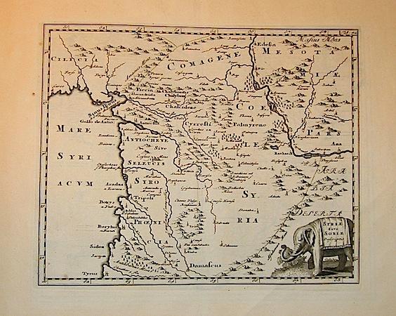 Cluver Philipp (Cluverius Philippus) Syriae sive Soriae descriptio 1678 Braunschweig