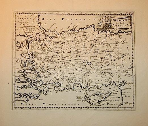 Cluver Philipp (Cluverius Philippus) Chersonesi quae hodie Natolia descriptio 1678 Braunschweig