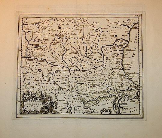 Cluver Philipp (Cluverius Philippus) Daciarum, Moesiarum et Thraciae vetus et nova descriptio 1678 Braunschweig
