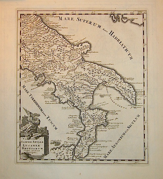 Cluver Philipp (Cluverius Philippus) Campaniae, Samnii, Apuliae, Lucaniae, Brutiorum vetus et nova descriptio 1678 Braunschweig