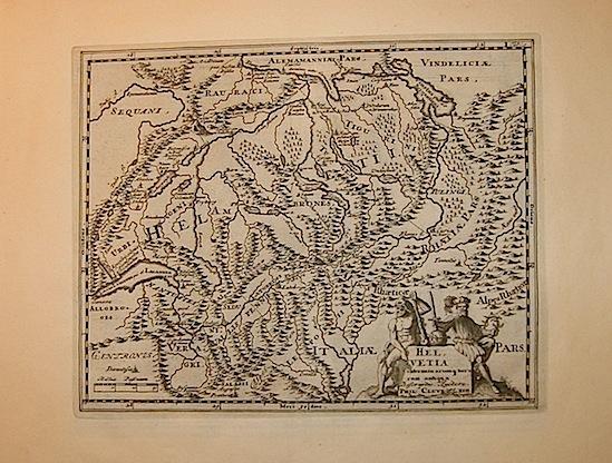 Cluver Philipp (Cluverius Philippus) Helvetia conterminarumq. terrarum antiqua descriptio 1678 Braunschweig