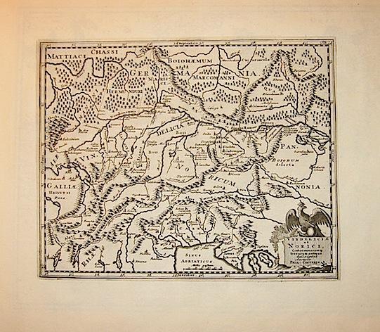Cluver Philipp (Cluverius Philippus) Vindeliciae et Norici, conterminarumq. terrarum antiqua descriptio 1678 Braunschweig