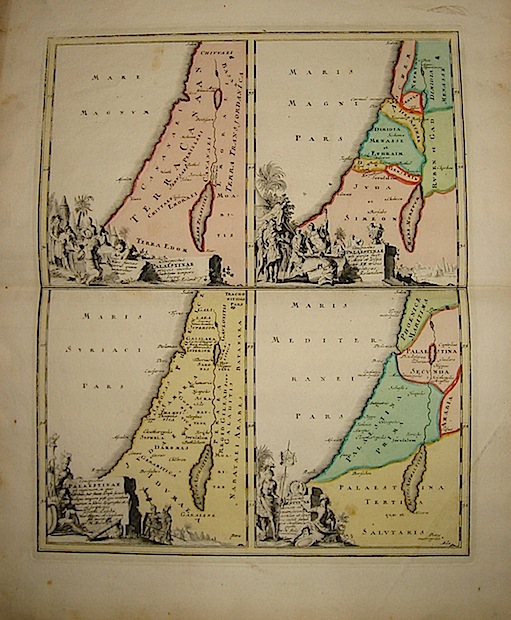 Weigel Christoph Conspectus Palaestinae... 1720  Norimberga