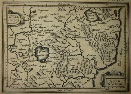 Bertius Petrus Ager Orvietanus 1616 Amsterdam