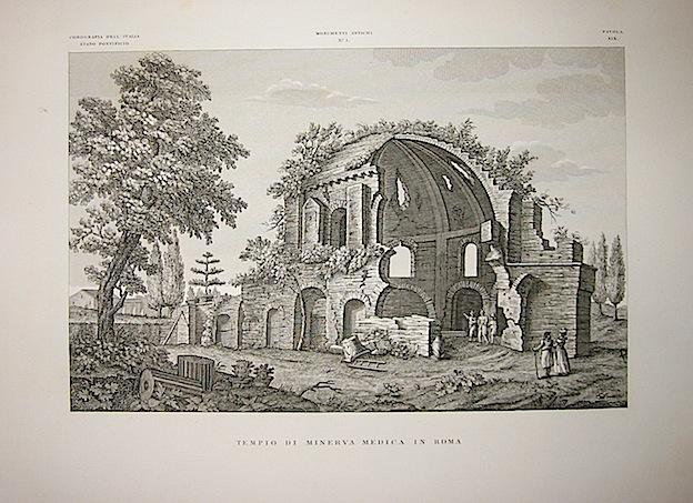 Giarré P. Tempio di Minerva Medica in Roma 1845 Firenze
