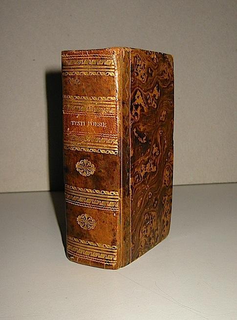 Fulvio Testi Poesie... fatte nuovamente ristampare dal marchese D.Giulio Testi cavaliere dell'Abito di S.Iago e figlio dell'Autore... 1663 Modona Soliani