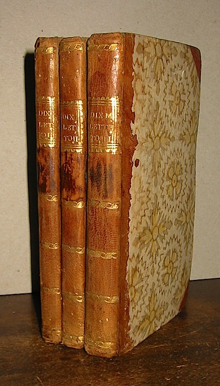 M. de la Dixmerie Les dangers d'un premier choix:ou lettres de Laure a Emilie 1785 L'Haye et Paris Chez Delalain le jeune