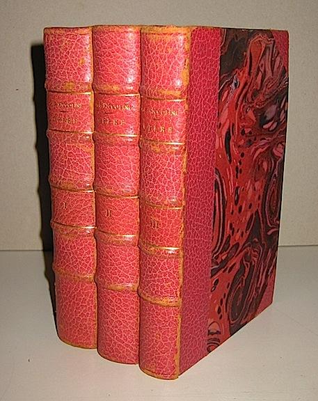 G.B. Niccolini Opere. Edizione ordinata e rivista dall'Autore 1844 Firenze Felice Le Monnier