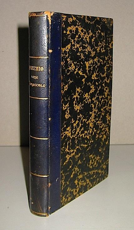 Giuseppe Pecchio  Vita di Ugo Foscolo 1830 Lugano Gius. Ruggia e C.