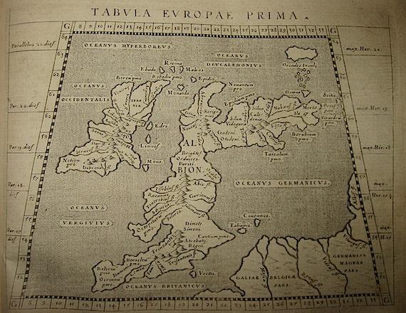 Magini Giovanni Antonio Tabula Europae prima 1620 Padova