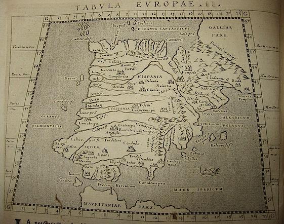 Magini Giovanni Antonio Tabula Europae II 1620 Padova