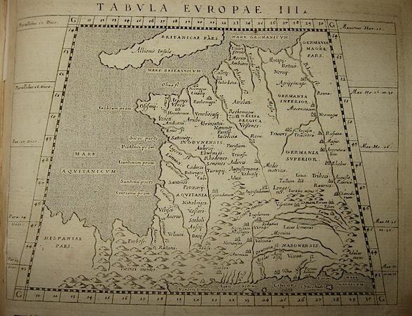 Magini Giovanni Antonio Tabula Europae III 1620 Padova