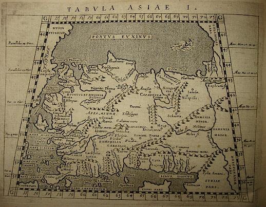 Magini Giovanni Antonio Tabula Asiae I 1620 Padova