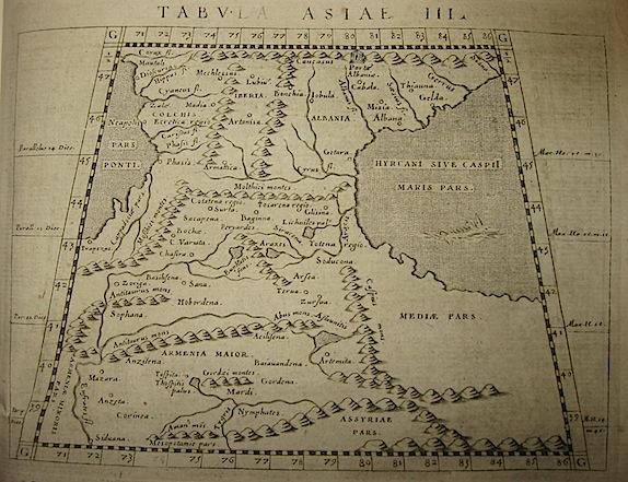 Magini Giovanni Antonio Tabula Asiae III 1620 Padova