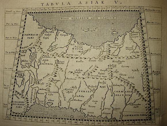 Magini Giovanni Antonio Tabula Asiae V 1620 Padova