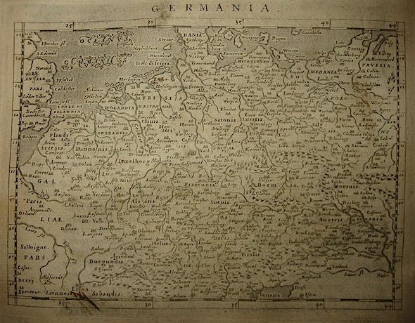 Magini Giovanni Antonio Germania 1620 Padova