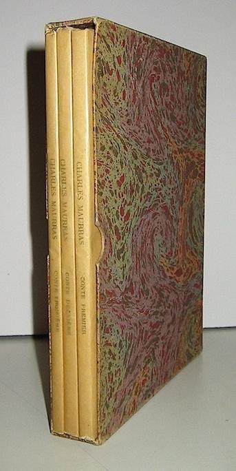 Charles Maurras Contes philosophiques 1928 Paris aux éditions du Capitole