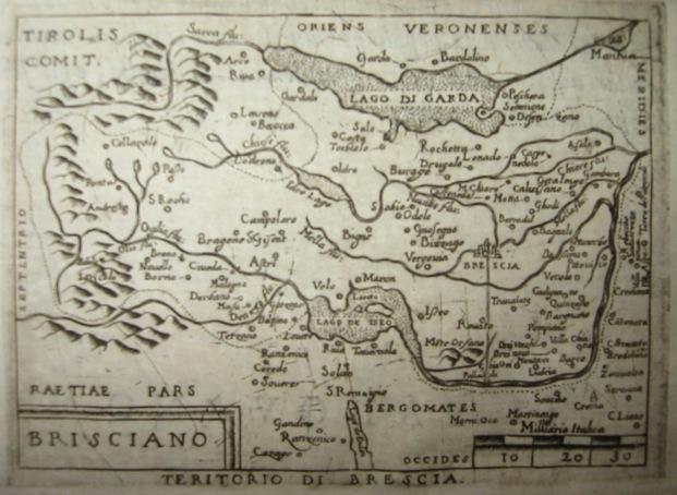 Ortelius Abraham (1528-1598) Brisciano 1598 Brescia