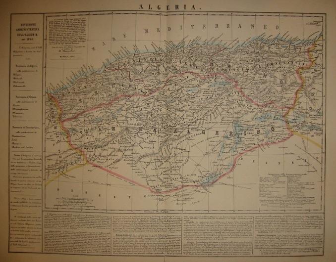 Marzolla Benedetto Algeria 1854 Napoli