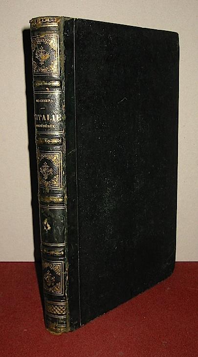 Amédée De Cesena L'Italie confédérée. Histoire politique, militaire et pittoresque de la Campagne de 1859 s.d. (1860 ca.) Paris Garnier frères