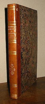 Slaughter Edward - Michaelis Ioh. Dav. Grammatica hebraica... item chaldaica... locupletata a Vincentio F. Castellini... 1851 Romae Propaganda Fide