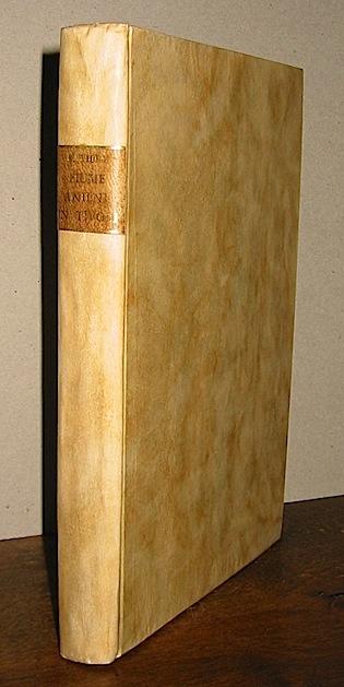 Sante Viola Cronaca delle diverse vicende del fiume Aniene in Tivoli sino alla deviazione del medesimo nel traforo del monte Catillo 1835 Roma Tipografia delle Belle Arti