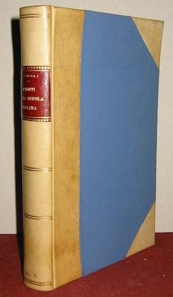 Domenico Gnoli I poeti della scuola romana (1850-1870) 1913 Bari Laterza