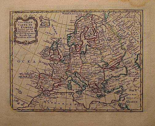 De Leth Hendrick Nouvelle carte de l'Europe 1770 ca. Amsterdam