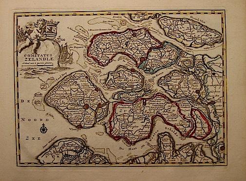 De Leth Hendrick Comitatus Zelandiae 1770 ca. Amsterdam