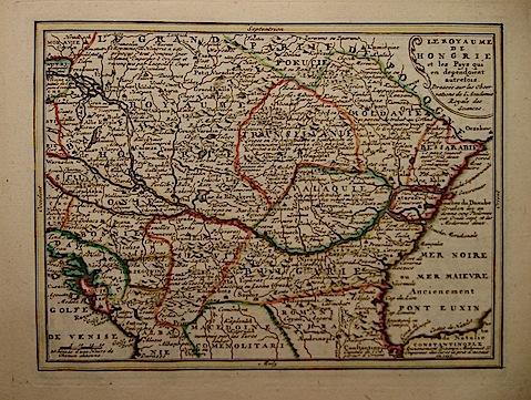 De Leth Hendrick Le Royaume de Hongrie 1770 ca. Amsterdam