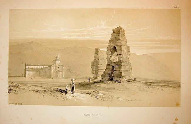 Lear Edward (1812-1888) San Pelino 1846 Londra
