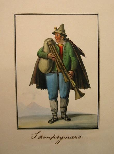 Anonimo Zampognaro 1827 (Napoli?)