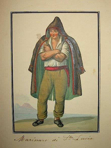 Anonimo Marinaro di Santa Lucia 1827 (Napoli?)