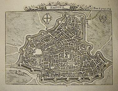 Van der Aa Pieter (1659-1733) Padoue 1706 Leida