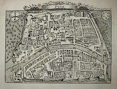 Van der Aa Pieter (1659-1733) Pise 1706 Leida