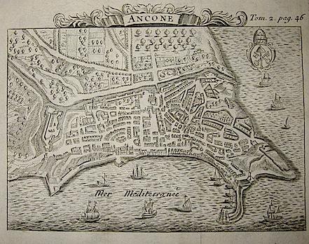 Van der Aa Pieter (1659-1733) Ancone 1706 Leida