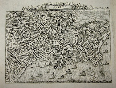 Van der Aa Pieter (1659-1733) Naples 1706 Leida