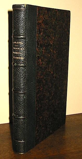 Felix (Etienne Pall) Platel Savoie et Piemont. Causeries franco-italiennes 1858 Paris Librairie d'Alphonse Taride
