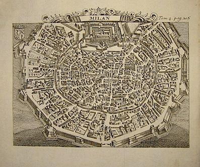 Van der Aa Pieter (1659-1733) Milano 1706 Leida