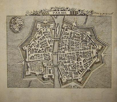Van der Aa Pieter (1659-1733) Parme 1706 Leida