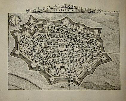Van der Aa Pieter (1659-1733) Plaisance 1706 Leida