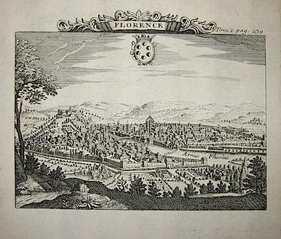 Van der Aa Pieter (1659-1733)  Florence 1706 Leida